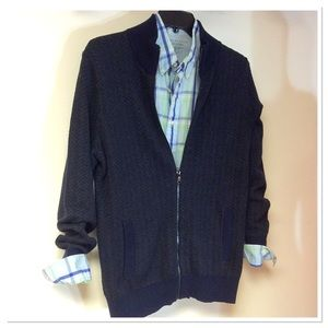 BANANA REPUBLIC FULL ZIP CARDIGAN